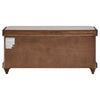 Storage Bench with Linen Seat Cushion
