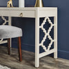 2-Drawer Writing Desk - White Finish