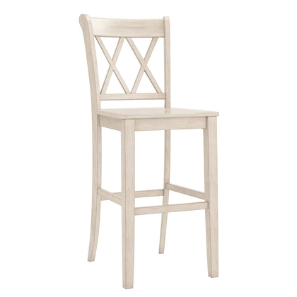 Double X Back Bar Height Chairs (Set of 2)