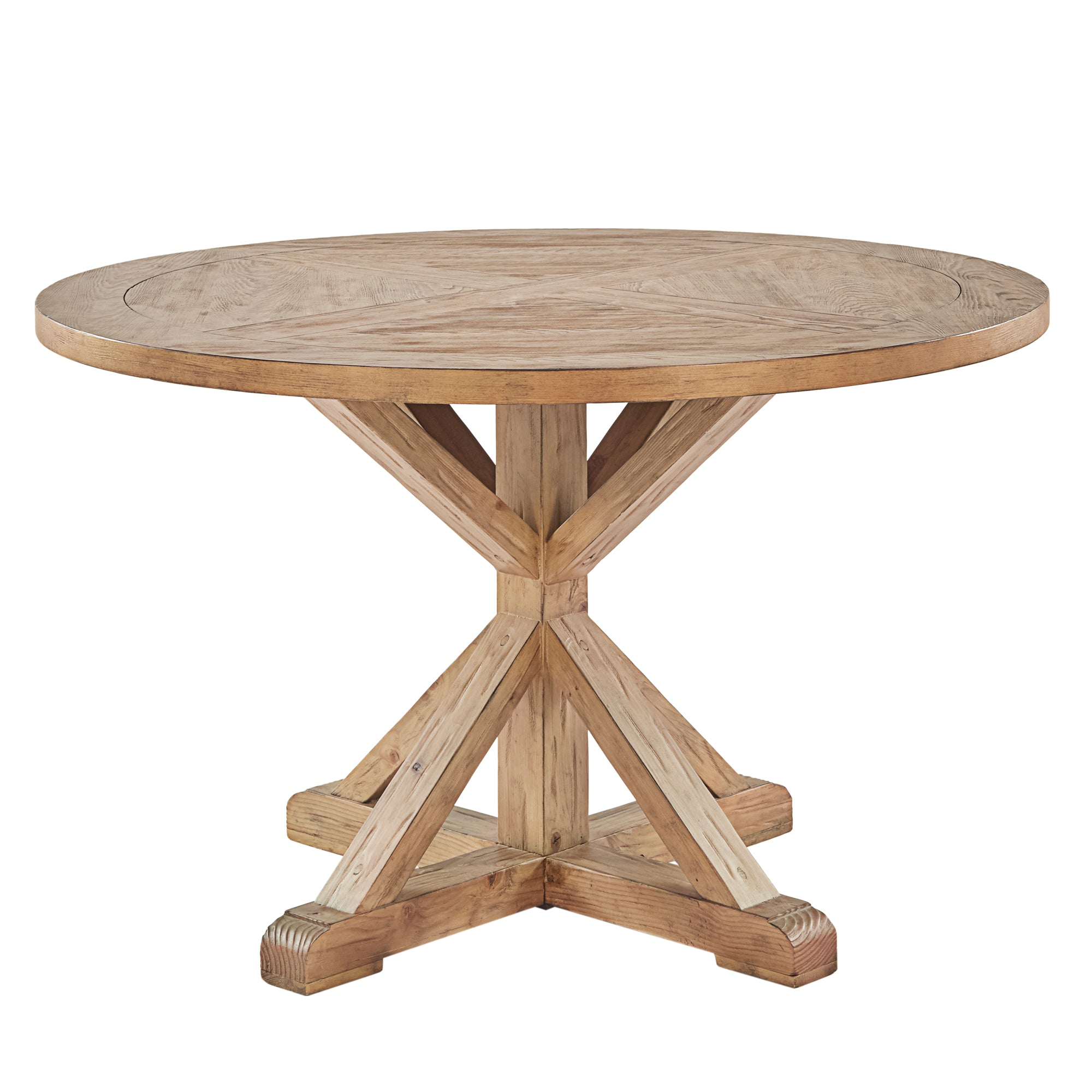 X-Base 48-inch Round Dining Table