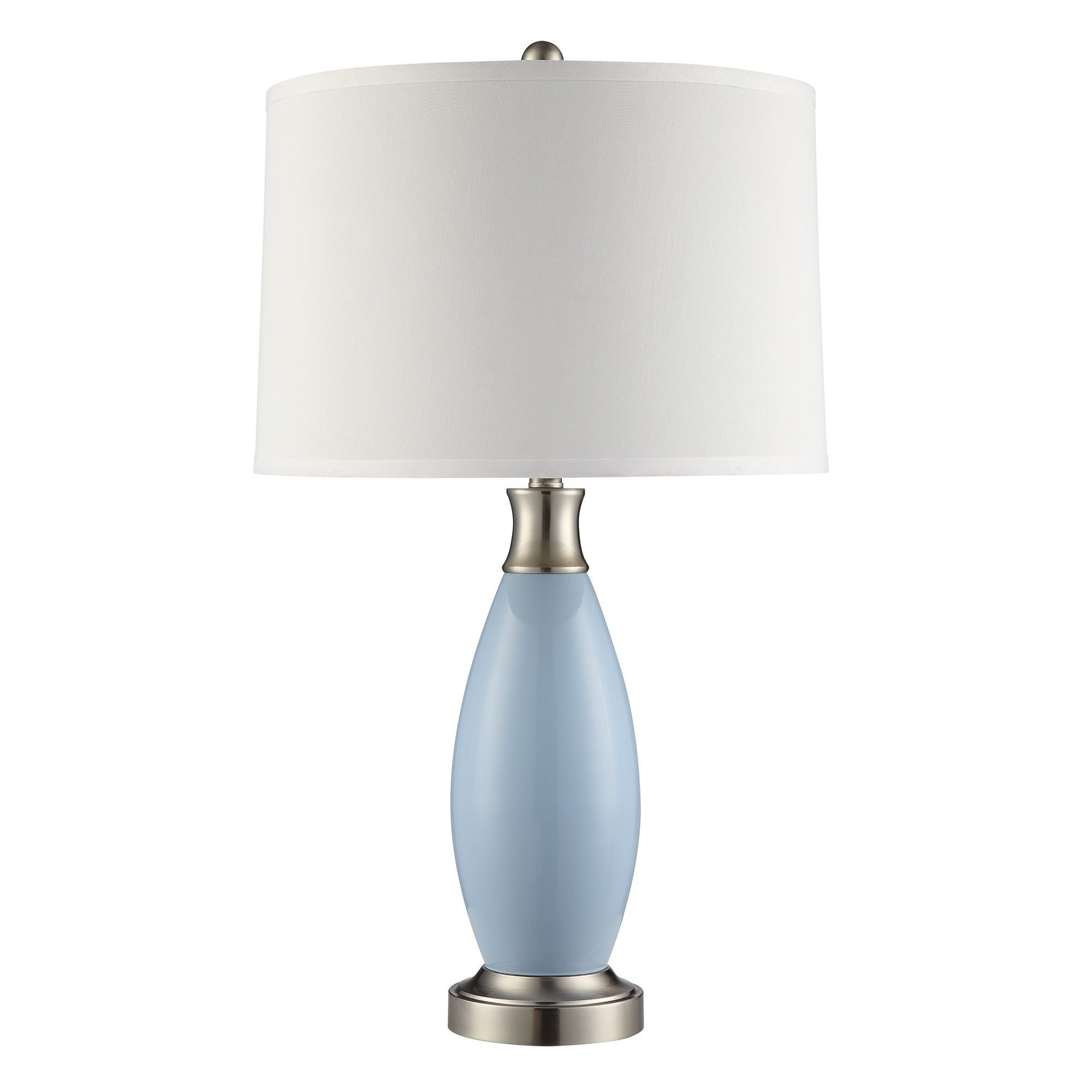 Blue Metal 1-light Accent Table Lamp