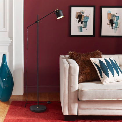 Modern Black Floor Lamp