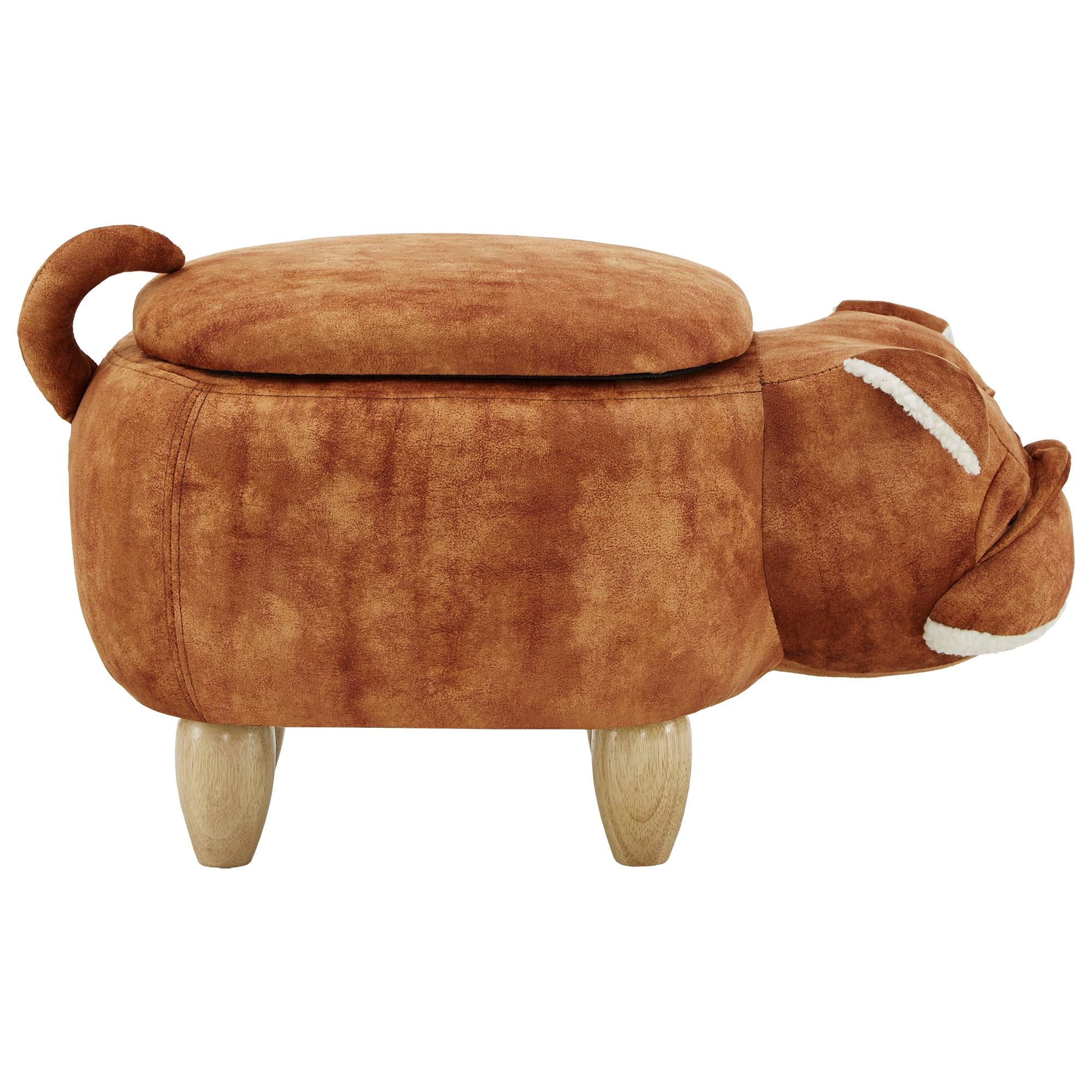 Animal Storage Ottoman - Bull Dog