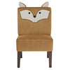 Velvet Fox Accent Chair