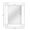Chrome Finish Frame Rectangular Wall Mirror