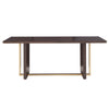 Espresso 78-inch Rectangular Dining Table