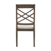 Espresso Finish Dining Chairs (Set of 2)