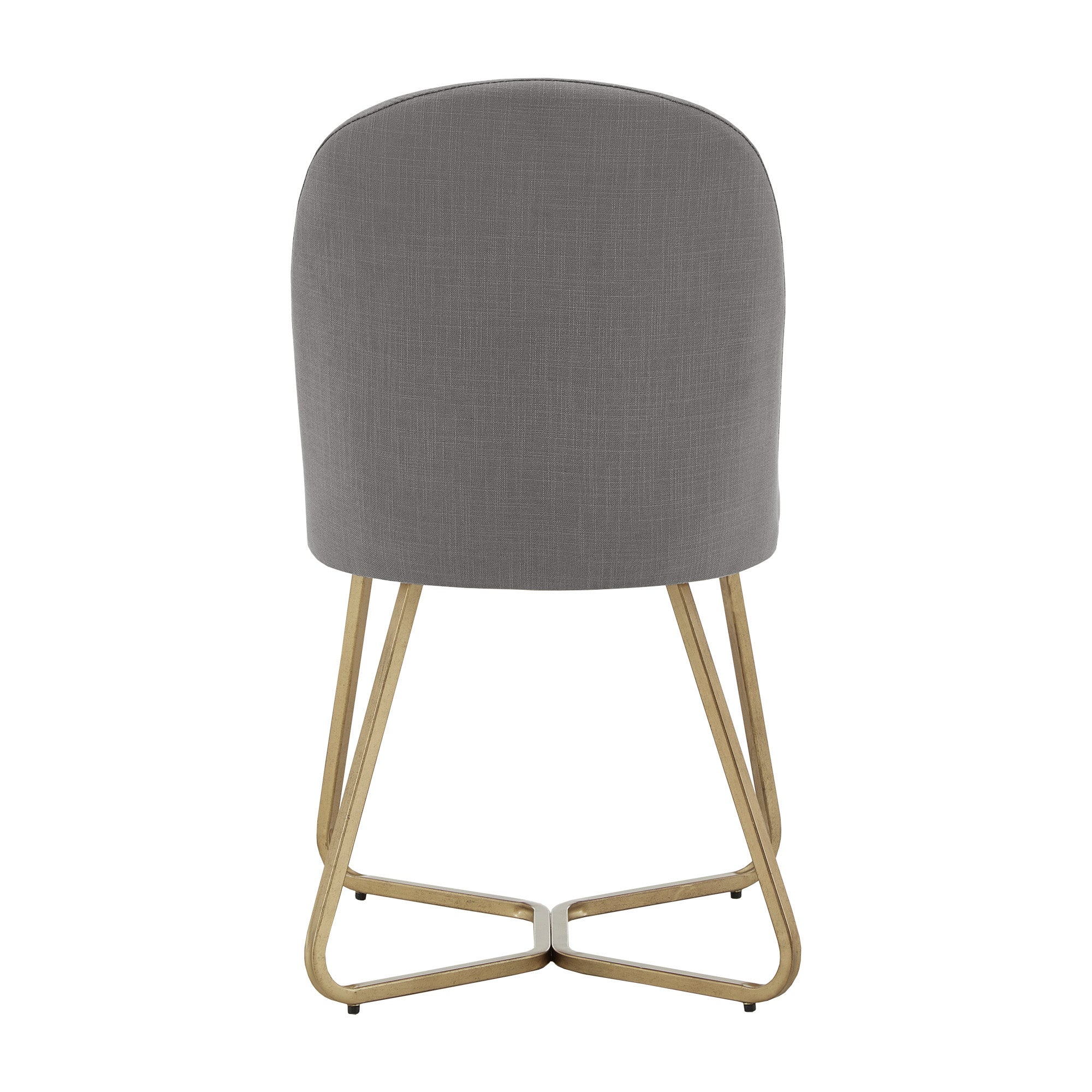 Linen Upholstered Dining Chair (Set of 2) - Flint Grey
