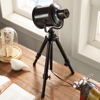 Adjustable Tripod 1-light Spotlight Lamp