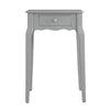 1-Drawer Storage Side Table - Grey
