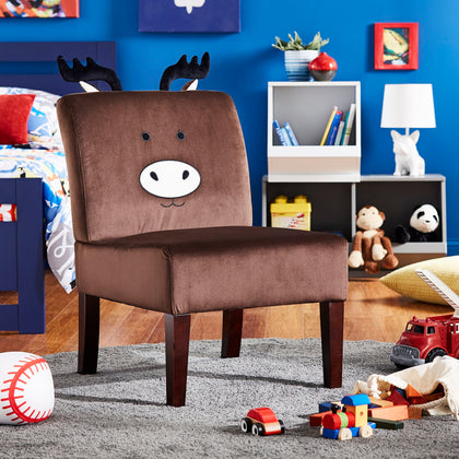 Velvet Moose Accent Chair