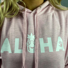 Load image into Gallery viewer, Aloha Surf Pink Hoodie F // SS20