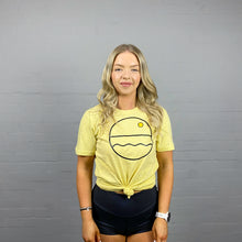 Load image into Gallery viewer, Sunset Surf Gold Tee F // SS20