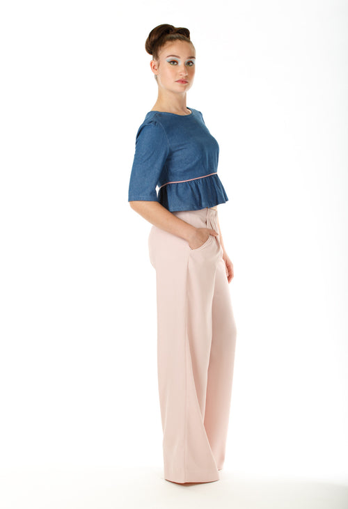 Maison Wide-legged Pants