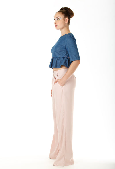 Maison Wide-legged Pants - Angelica Timas