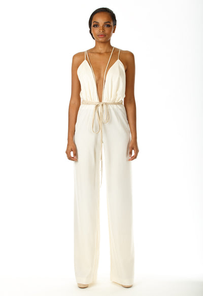 Kaylee Open Back Jumpsuit - Angelica Timas