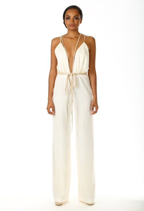 Kaylee Open Back Jumpsuit