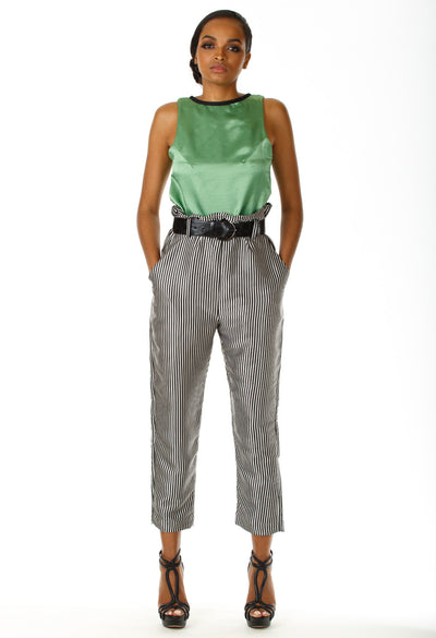 Daise Paperbag Waist Pants - Angelica Timas