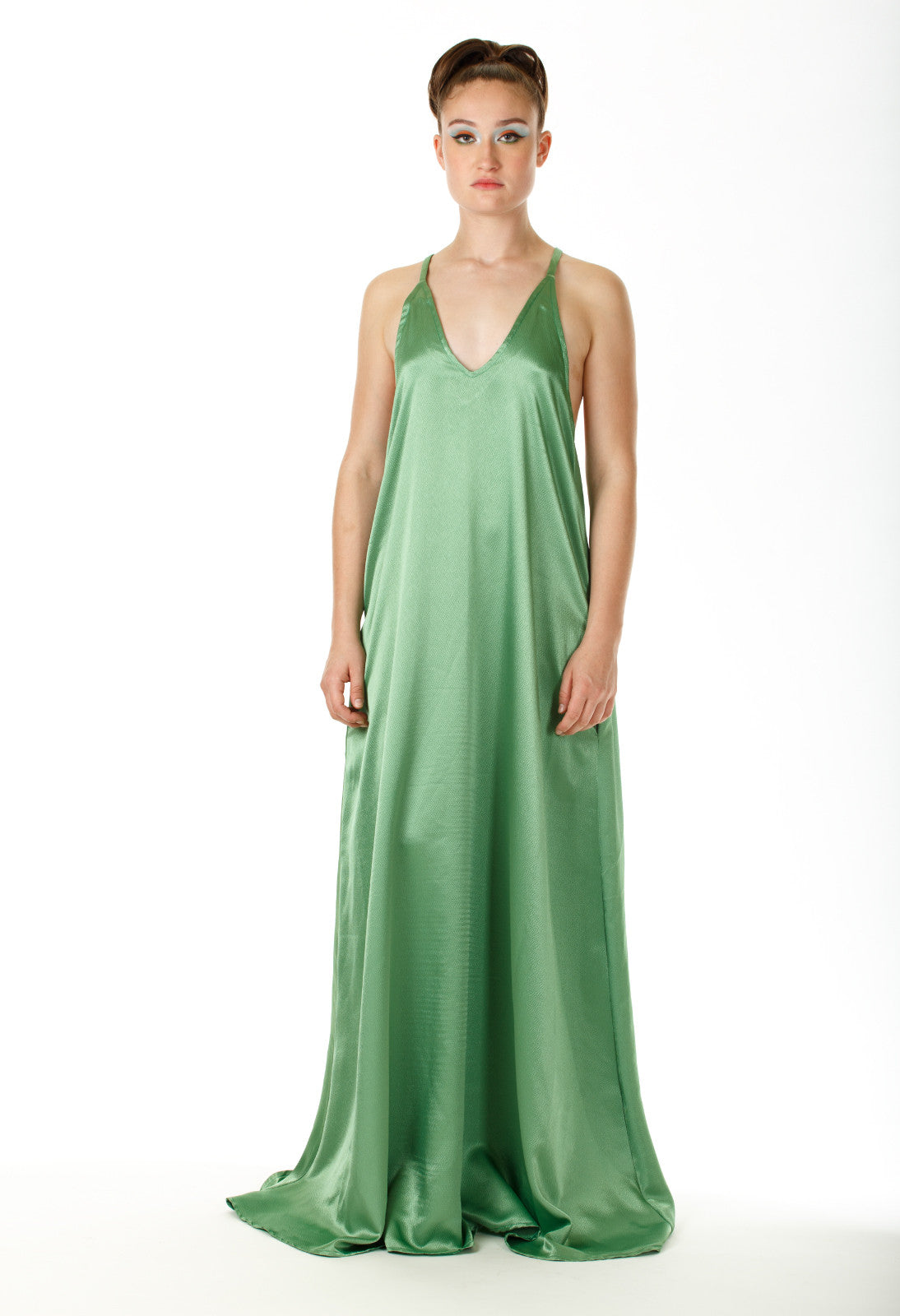Yennah Open Back Maxi Dress - Angelica Timas