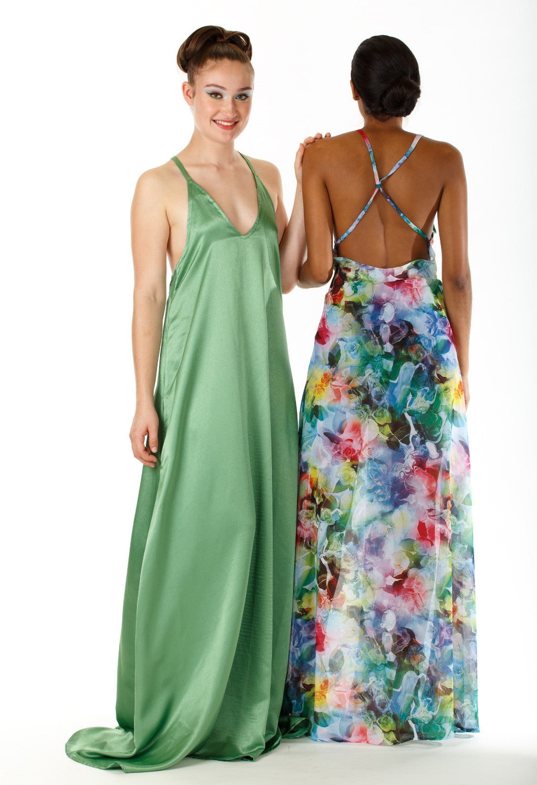 Yennah Open Back Maxi Dress
