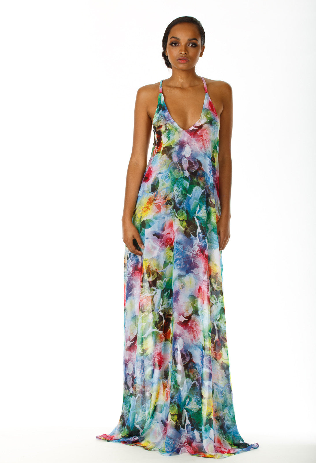 Mylie Open Back Maxi Dress