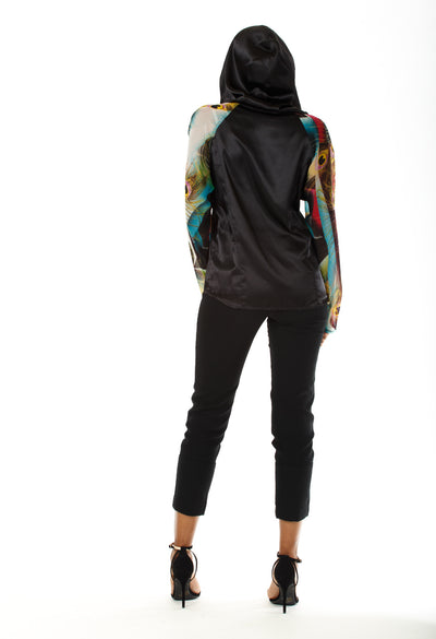 Bella Hooded Blouse - Angelica Timas