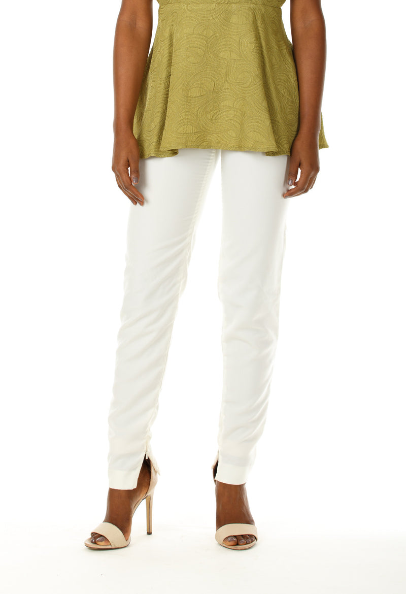 Nicole Side Zip Skinny Pants - Angelica Timas