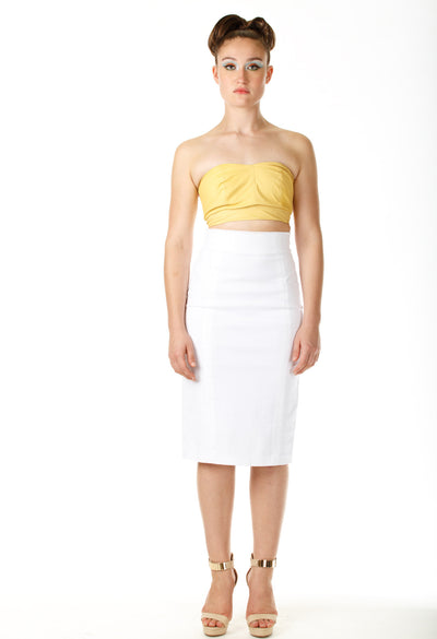 Diva Pencil Skirt - Angelica Timas