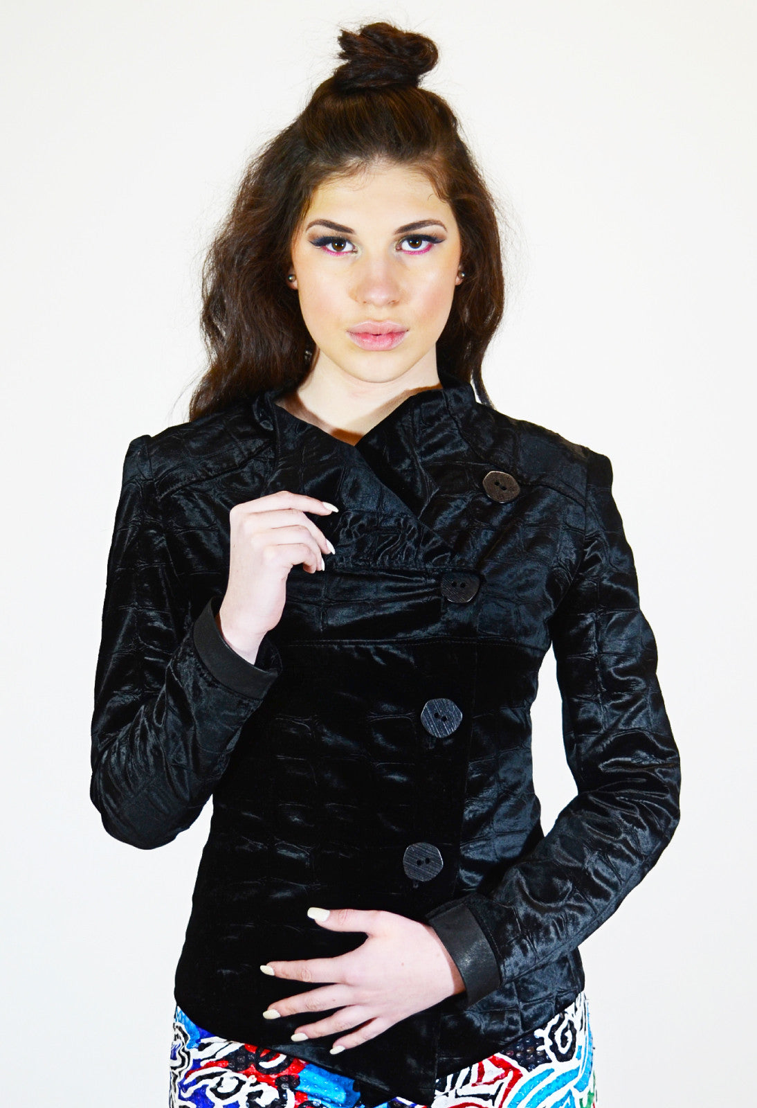 Le Velours Lapel Jacket - Angelica Timas