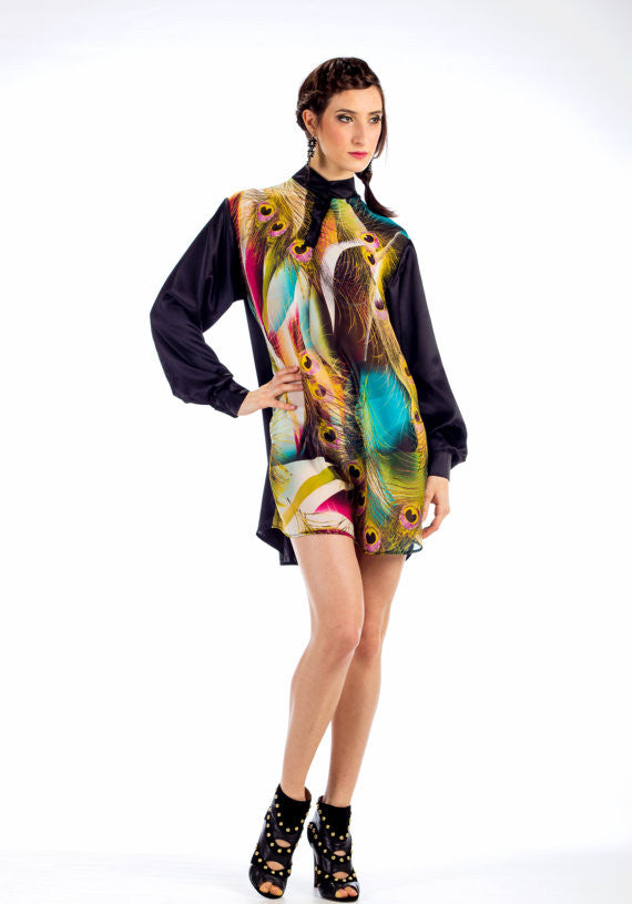 Djenny Shirt Dress - Angelica Timas