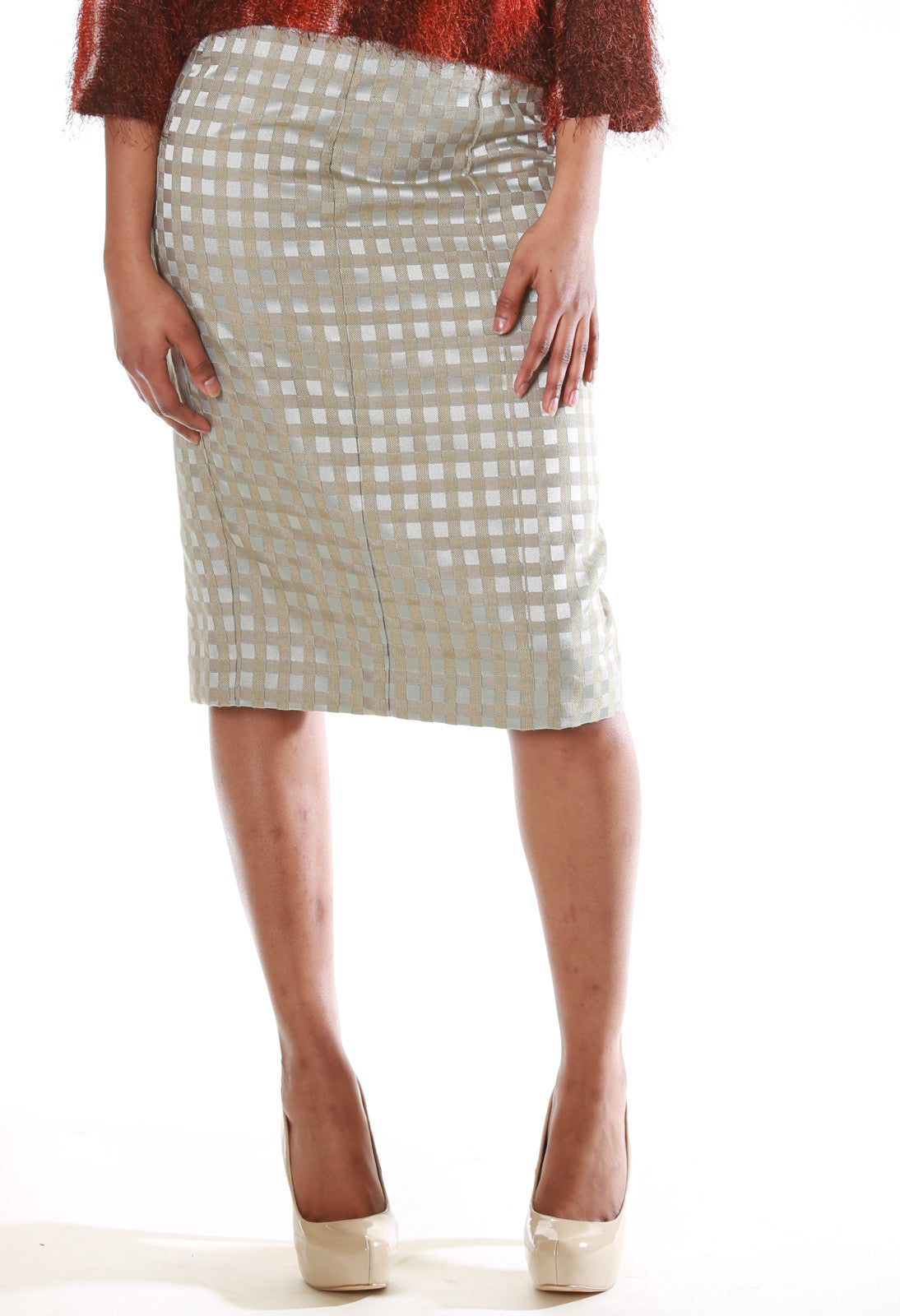 Lux Pencil Skirt