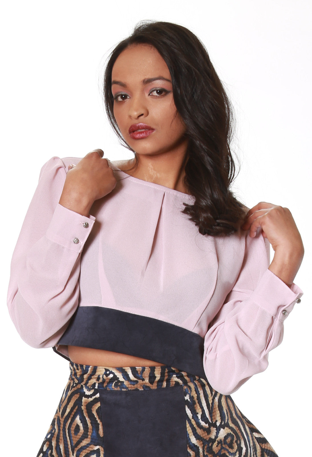 Jada Crop Blouse