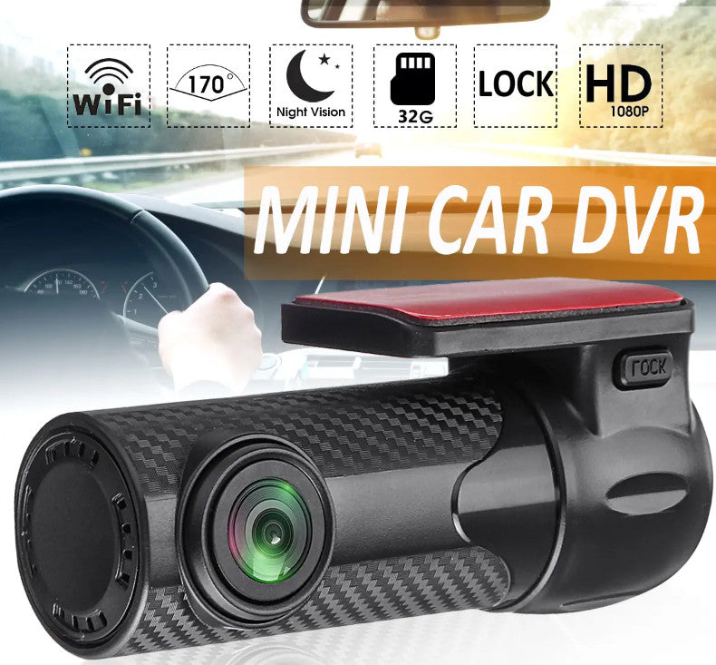 VideoX™ HD 1080P Mini Car DVR WIFI Night Vision Dash Camera