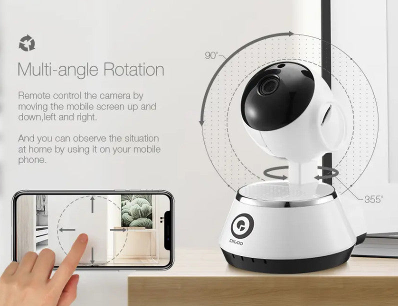 BabyView™ HD Baby Monitor Smart Home WiFi IP Camera 720P!
