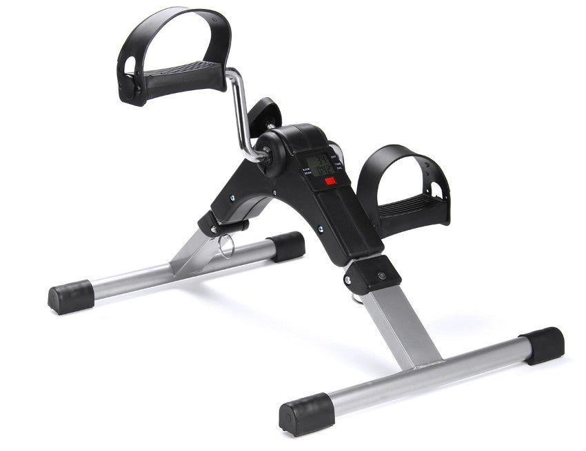 KickX™ Under Desk Pedal Exerciser Mini Exercise Bike Pedal Machine with Digital Display