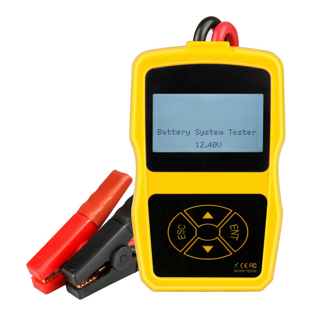 12V Car Battery System & Auto Analyzer