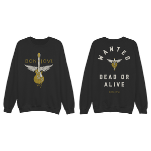 Bon Jovi Wanted Dead or Alive Crewneck