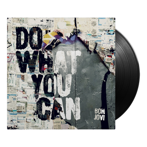 "Bon Jovi Do What You Can/American Reckoning 7"" + Album"