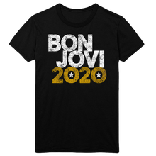 Load image into Gallery viewer, Bon Jovi 2020 Black Tee