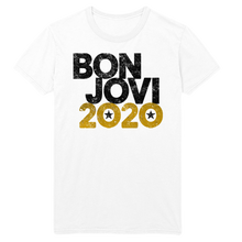 Load image into Gallery viewer, Bon Jovi 2020 White Tee