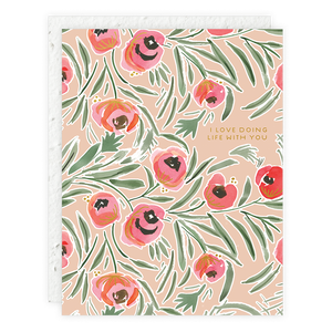 Misha Floral Seedlings Card
