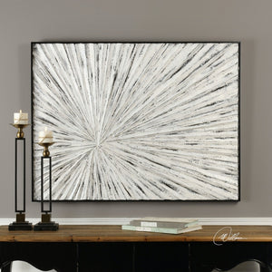 White Distressed Wall Art