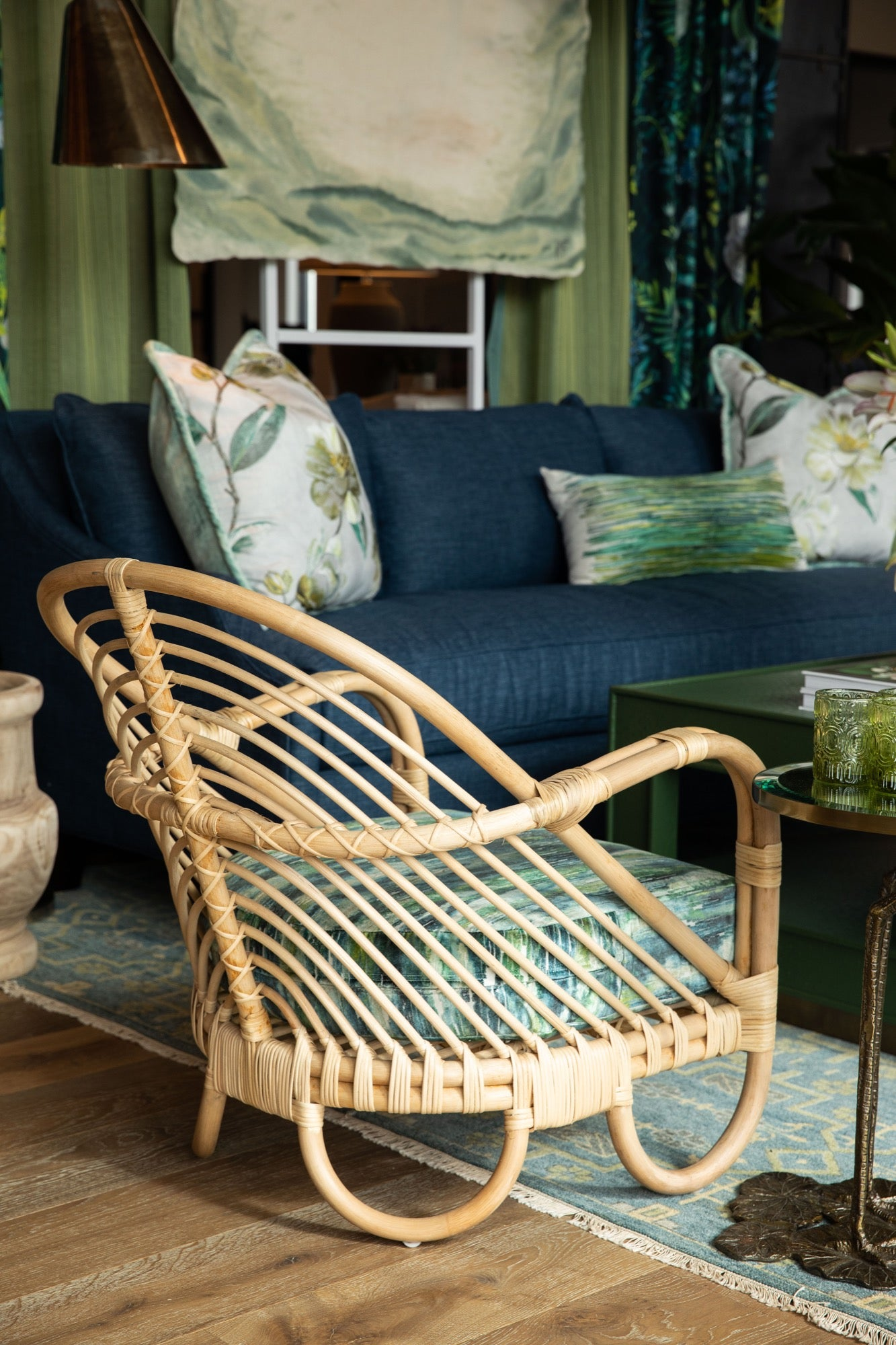 Forget-Me-Not Lounge Chair