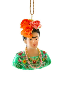 Frida Khalo Ornament