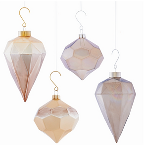 Faceted Pendant Ornament