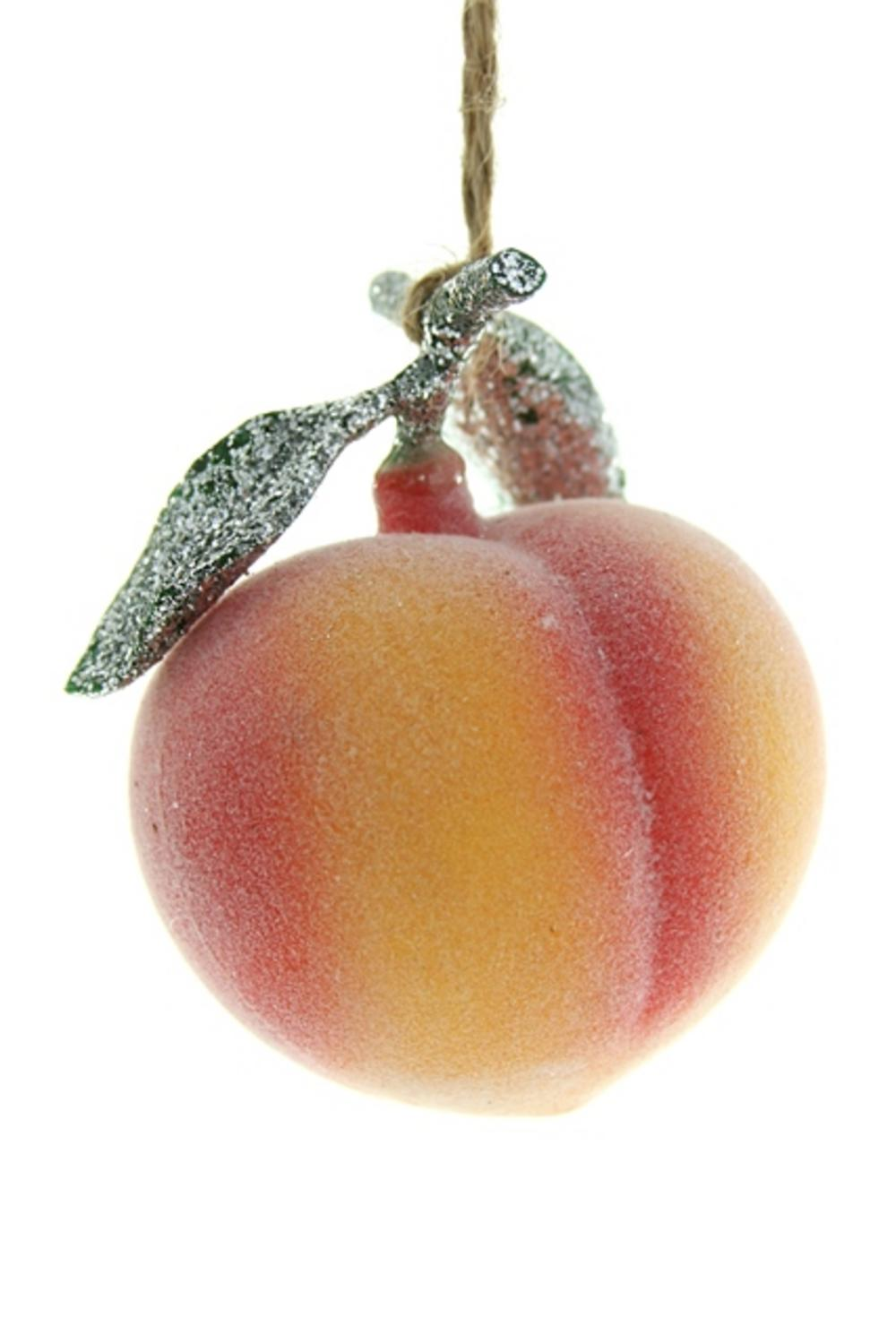 Peach Ornament