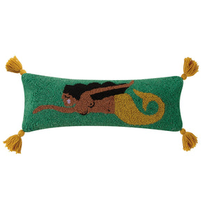 Mar Hook Pillow with Tassels
