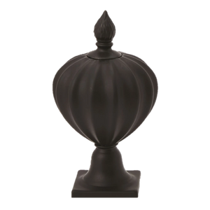 Black Flame Bottle Urn