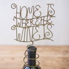 Wire Wine Topper