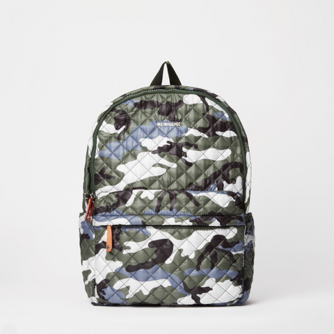 MZ Wallace Metro Backpack in Ocean Camo
